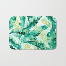 Banana leaf Bath Mat