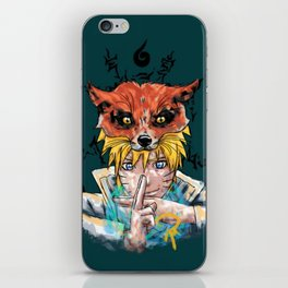 Naruto Abstract iPhone Skin