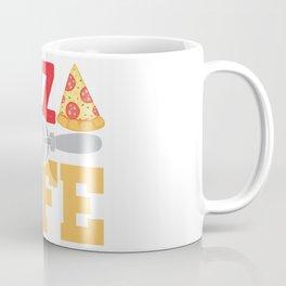 Pizza Is Life Italy Italian Food Foodie Gift Coffee Mug