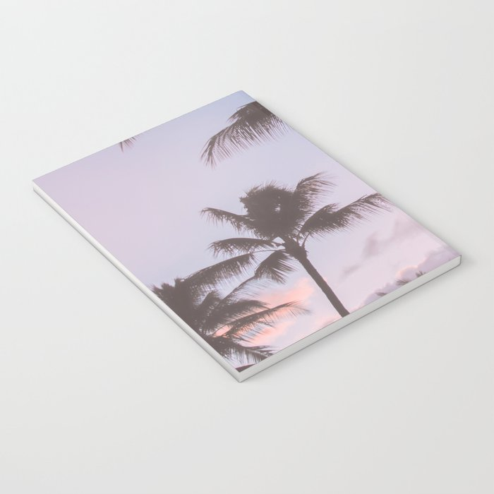 Pastel Palm Trees Notebook