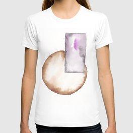 180914 Minimalist Geometric Watercolor 8 T-shirt