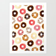 Donuts For Days Art Print