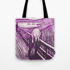 The Scream's Haze (purple) Tote Bag
