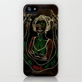 The Apple of My Eye iPhone Case