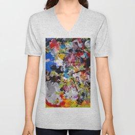 Artist palette Unisex V-Neck