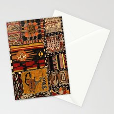 about meanders and lucky numbers Stationery Cards