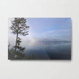 Beyond the Trees Metal Print