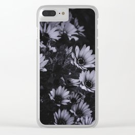 Flowers everywhere Clear iPhone Case