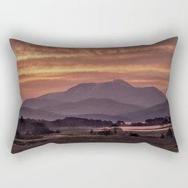 Scotland Ben Nevis mountain at sunrise Rectangular Pillow