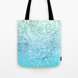Seafoam Aqua Ocean MERMAID Girls Glitter #1 #shiny #decor #art #society6 Tote Bag