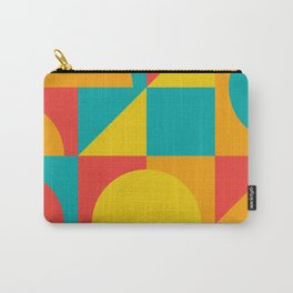 Geometric Colors Carry-All Pouch