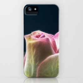Softness of a rose iPhone Case