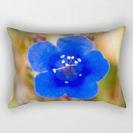 Desert Bluebell Alternate Perspective Rectangular Pillow
