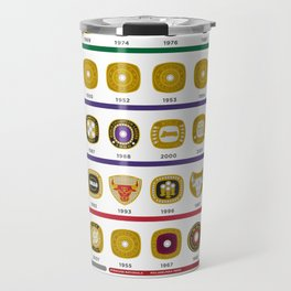 NBA Championship Rings Travel Mug