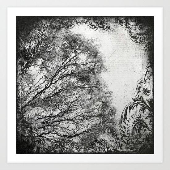 MYSTIC TREE | INST'ART Art Print