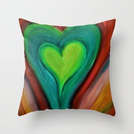 KIND HEART Throw Pillow