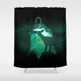 Snape and the Doe Shower Curtain
