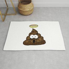 Holy Crap! - Bathroom Humor - Poop - 57 Montgomery Ave Rug