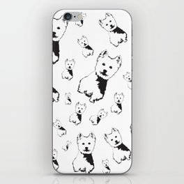 WEST HIGHLAND TERRIER GIFTS iPhone Skin