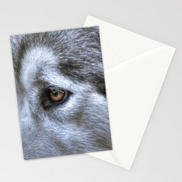 Eye of the dog Stationery Cards