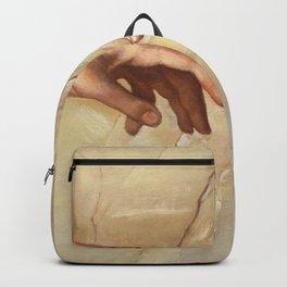 "Michelangelo ""Creation of Adam""(detail) Backpack"