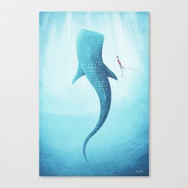The Whale Shark Canvas Print