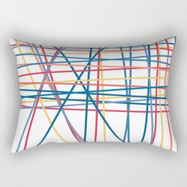 February Print 7 Rectangular Pillow