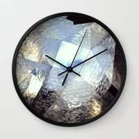 mirror Wall Clocks featuring mirror by Nat Alonso