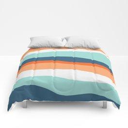 venice sunset Comforters