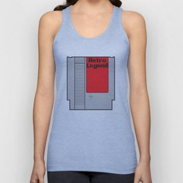 Retro Legend Gaming Quote Unisex Tank Top