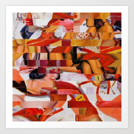 Spooning de Kooning (Provenance Series) Art Print