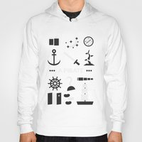 ouat Hoodies featuring OUAT - A Pirate by Redel Bautista