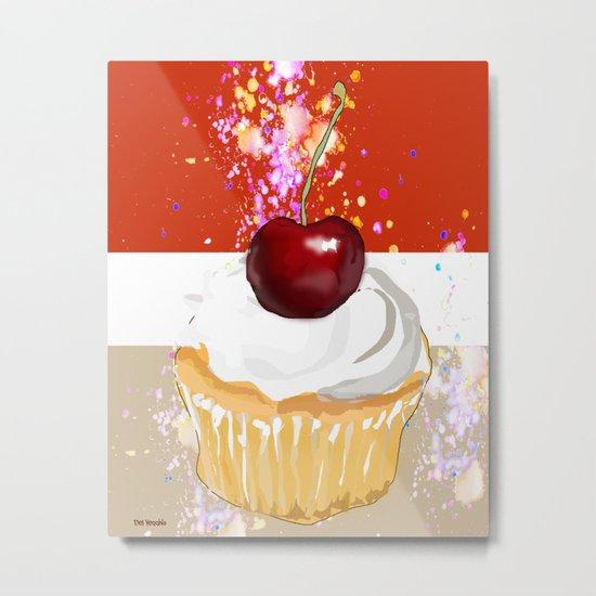 Cupcake-2 Metal Print