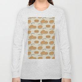 Brown cookies Long Sleeve T-shirt