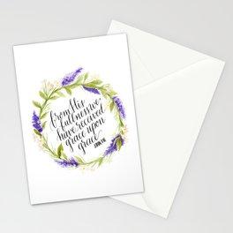 Grace Upon Grace  Stationery Cards