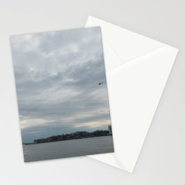 Clouds Over Governor's Island Stationery Cards