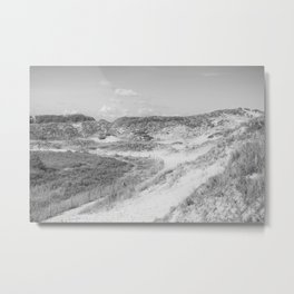 Dunes of Le Touquet, France Metal Print