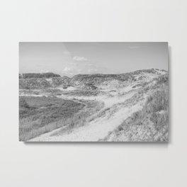 Dunes of Le Touquet, France Metal Print