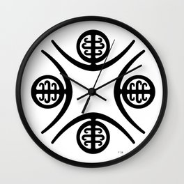 Pre-Columbian IV Wall Clock