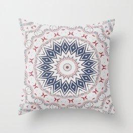 Dreamcatcher Berry & Blue Throw Pillow