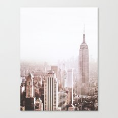 New York City Late Afternoon Canvas Print