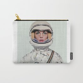 Nasa Woman Astronaut Carry-All Pouch