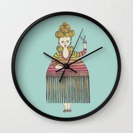 Thérèse la Coiffeuse Wall Clock