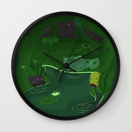 Ilex Forest Wall Clock