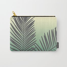 Pastel Tropical Plam Tree Carry-All Pouch