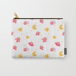 Peachy Kirby Pattern Carry-All Pouch