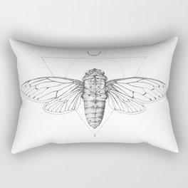 Midnight Cicada Rectangular Pillow