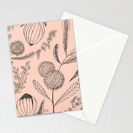 Floating Blush Garden Stationery Cards