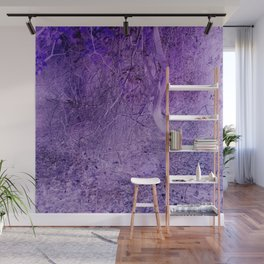 Season of the Land - Purple Storm Wall Mural
