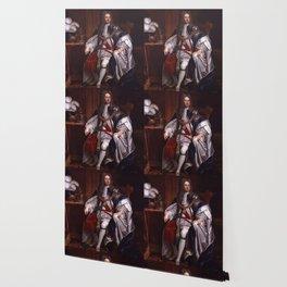 King George I portrait Wallpaper